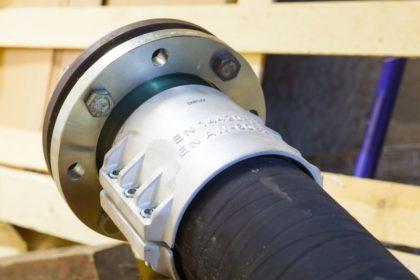 Рукав резиновый напорный плоскосворачиваемый бункеровочный