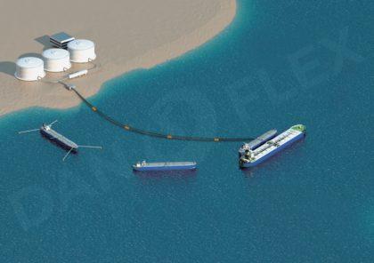 Перекачка нефтепродуктов между танкером и берегом и бункеровка судов в труднодоступных местах